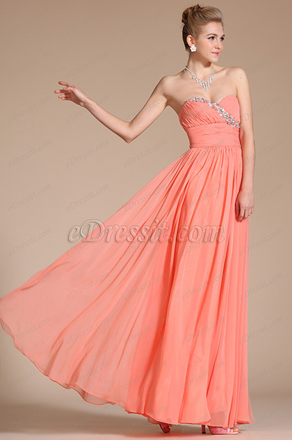 Charming Sweetheart Neckline Evening Dress/Bridesmaid Dress (C36141157)
