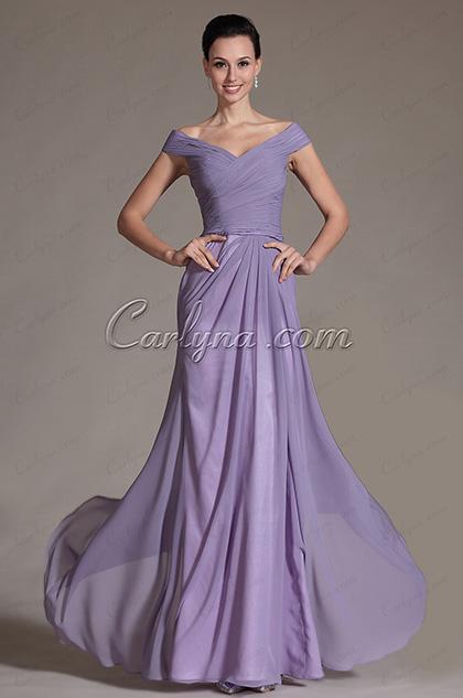 Romantic V-cut Evening Dress Prom Dress (C00144106)