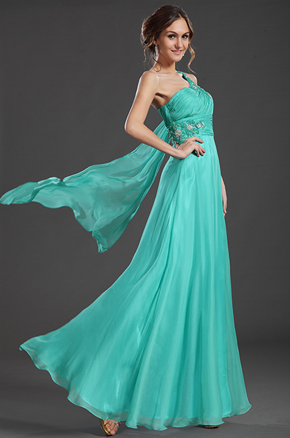 eDressit One Strap Blue Evening Prom Dress Formal Gown (36131605)