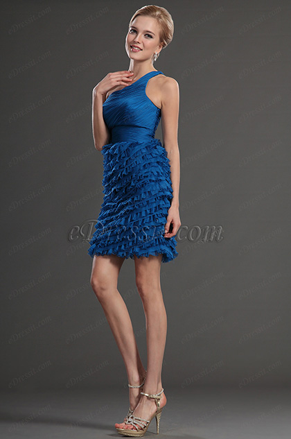 eDressit One Strap Cocktail Dress Prom Ball Gown (35130305)