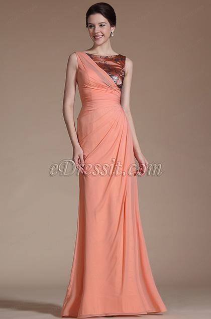 2014 Neu Stil Ärmelos Prom Kleid Abendkleid (C00146846)