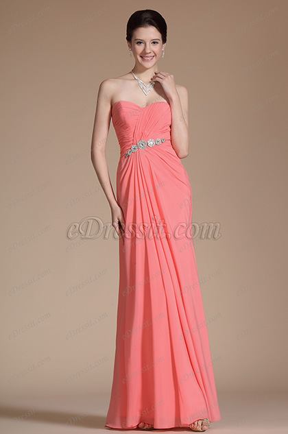 Elegant Sweetheart Neckline Evening Dress Prom Gown(C00142457)