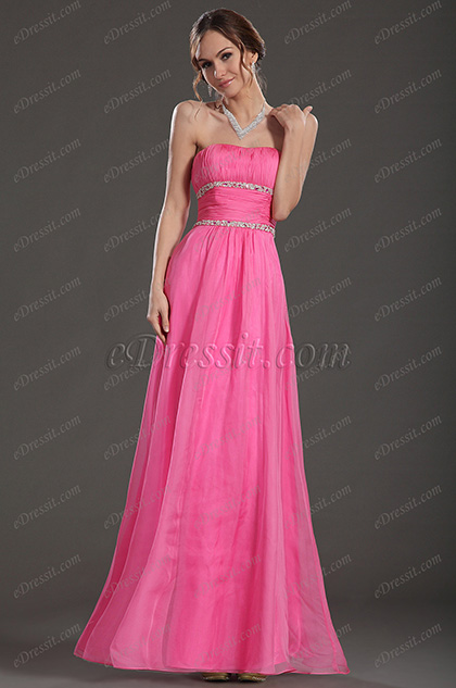 eDressit Strapless Long Evening Dress Prom Ball Gown (36130401)