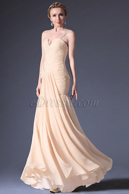 eDressit Fabulous One Shoulder Fully Ruched Bodice Evening Dress (w00122014)