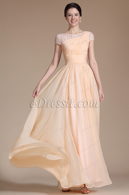 Short Sleeves Mother of the Bride Dress (C26140710)