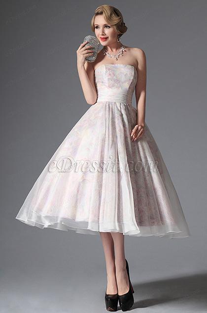 eDressit Simple Strapless Vintage Prom Dress Formal Gown (04145107) 642e8693e