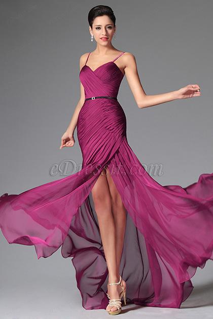 eDressit Simple Spaghetti Straps Evening Dress Bridesmaid Dress (02149812)