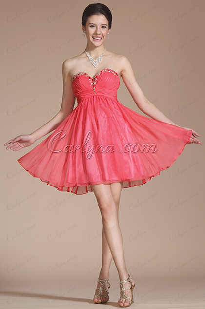 Graceful Sweetheart Beadings Cocktail Dress/ Bridesmaid Dress (C04140357)