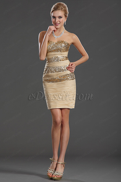 eDressit Modern Sexy Sequined Cocktail Kleid Party Kleid (35130124)