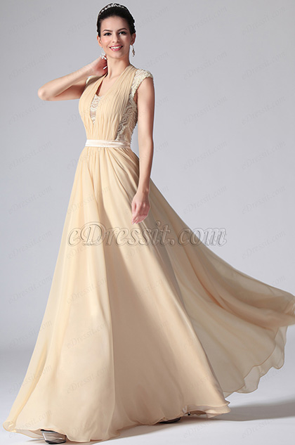 eDressit Sleeveless Long Evening Dress Prom Gown (00147714)