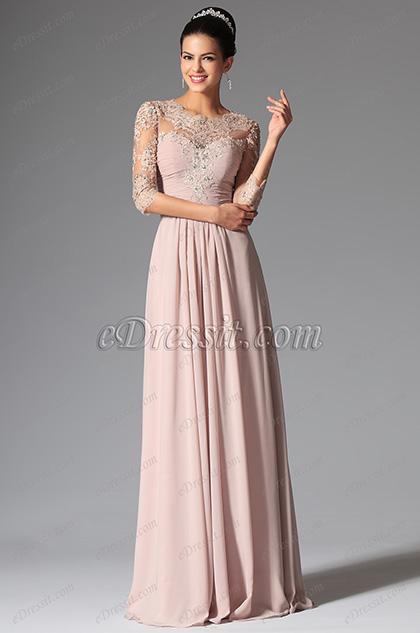 Kleid wadenlang mit armel