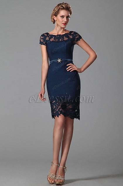 eDressit  Тёмно-синее Платье для Матери Невесты (26150105)