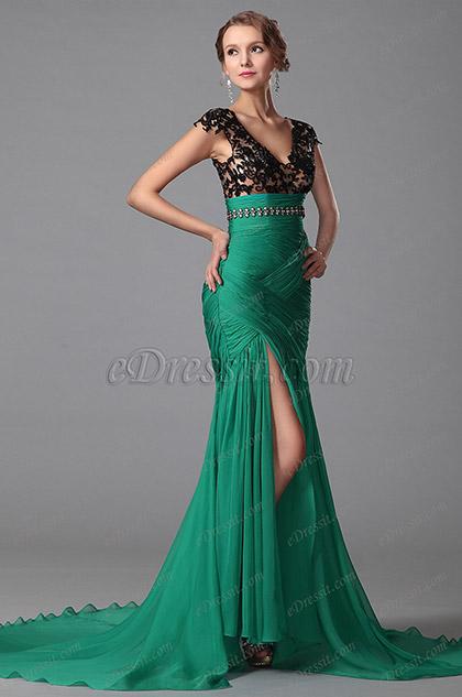 Длинные платья в пол с декольте