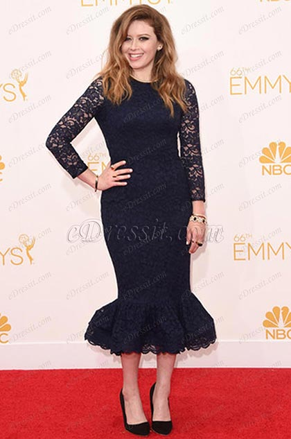 Natasha Lyonne Emmy Awards Vestido en Alfombra Roja(cm1413)
