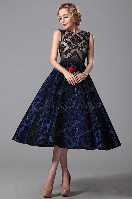 eDressit Vintage Sleeveless Cocktail Dress Party Dress (04151305)
