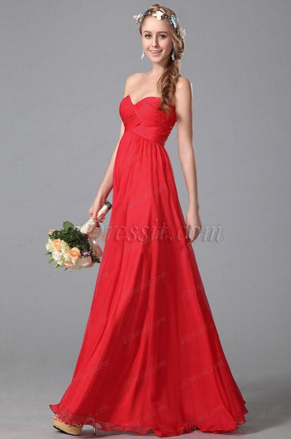 367467ee6aa eDressit Strapless Sweetheart Empire Waist Bridesmaid Dress ...