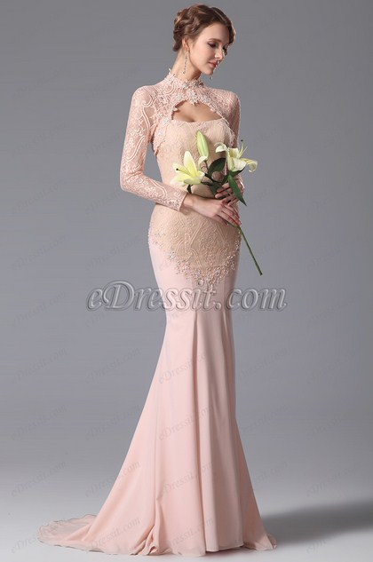 eDressit Lace Bolero Two Pieces Evening Dress Formal Gown (02150401)