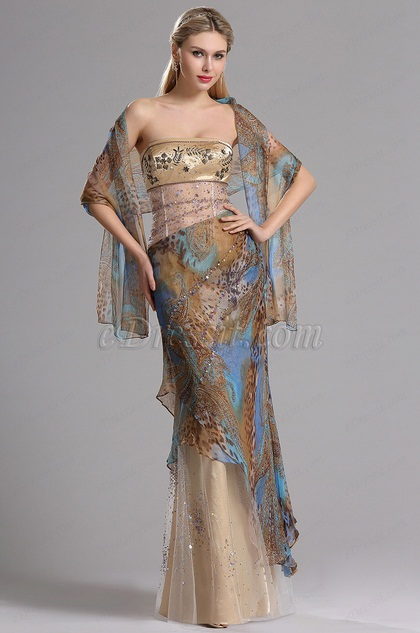 eDressit Stunning Printed Bohemian Summer Dress (00030220)