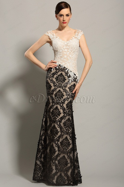 21ca78a1c1890 eDressit Sleeveless Lace Bodice Evening Gown Formal Dress (02153600)
