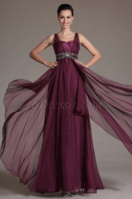 2014 New Stylish Beadings Evening Gown (C36142517)