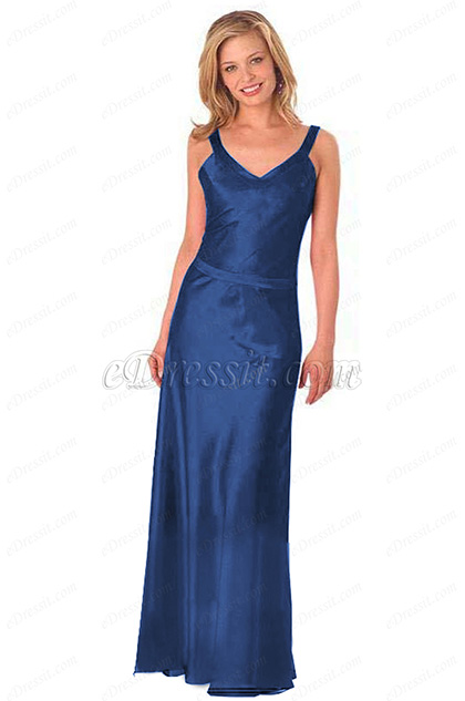 Royal Blue Prom Dress Evening Dress (H00290103-1)