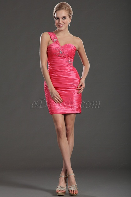 eDressit One Strap Cocktail Dress Prom (35130612)