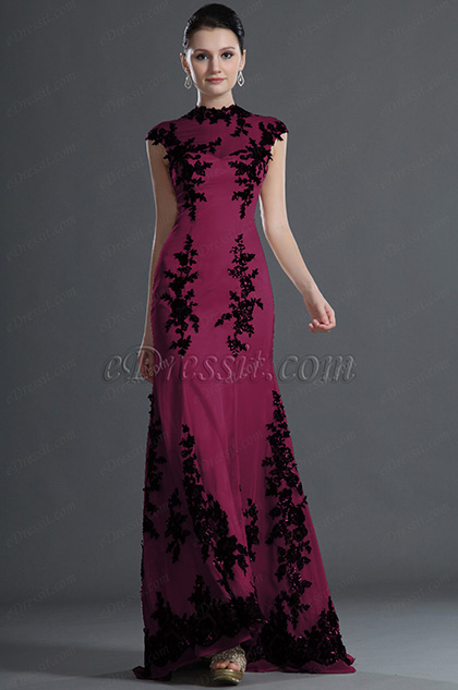 eDressit Gorgeous Black Lace Mermaid Evening Gown (H02120714)