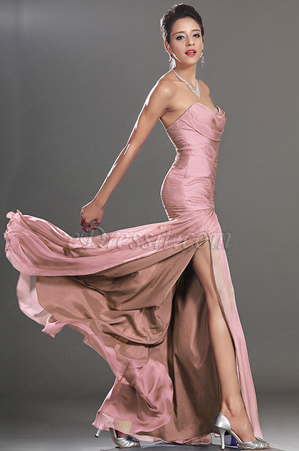 eDressit New Stunning High Split Strapless Evening Dress (H00134405)