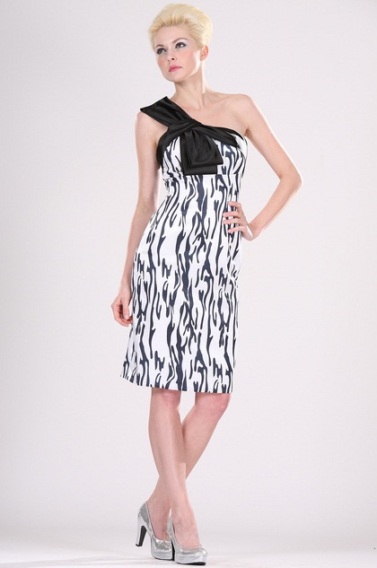 One Shoulder Party Dress Cocktail Dress (H04093700)