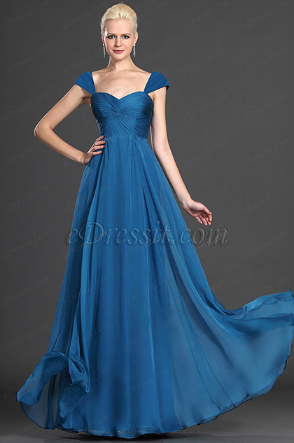 Elegant Strapless Lace Evening Dress (H00125605)