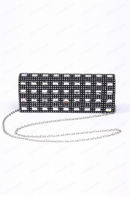 Sparkling Black Handbag (08150200)