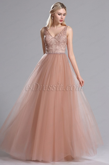 51c9d6917e91 Rosy Brown Beaded Floral Pleated Summer Party Dress (02162946)