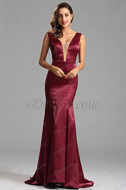 Сексуальное Вечернее Платье с Длинной Юбкой (X00160817)