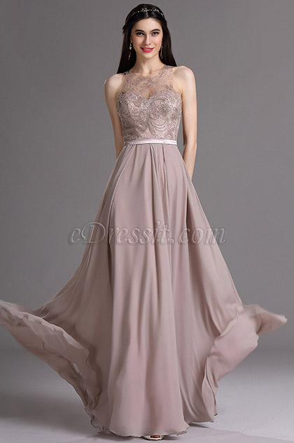 eDressit Halter Formal Gown with Embroidery and Beadings (02165116)