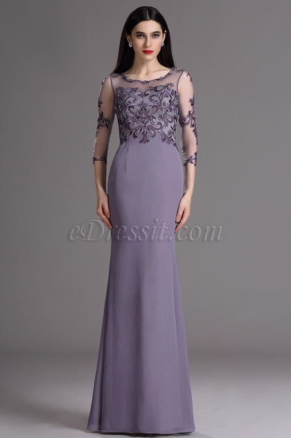 eDressit Embroidery Mother of the Bride Prom Dress with Beads (26163106)