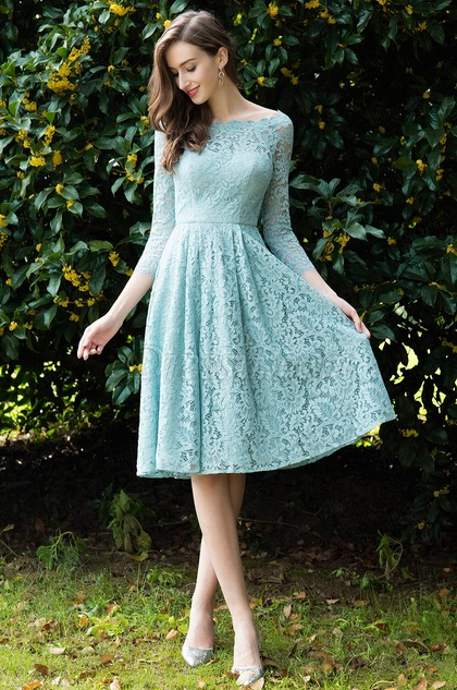 eDressit Light Green Lace Cocktail Party Dress (26170204)