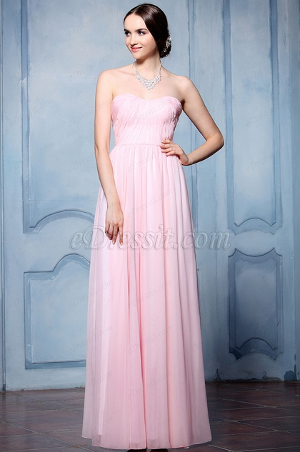 eDressit Pink Sweety Heart Neckline Evening Dress (07156701)