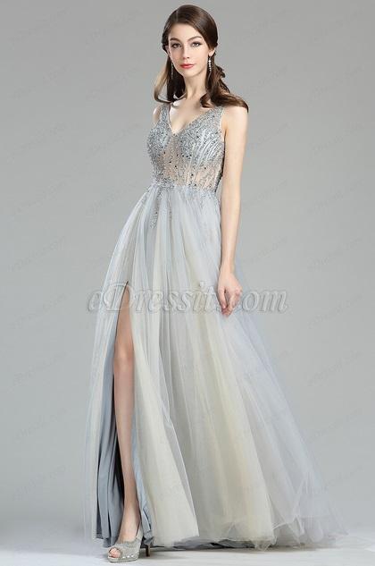 0c9f3b788ecc eDressit Sparkly V Cut Beaded Evening Dresses for Women (36180508)