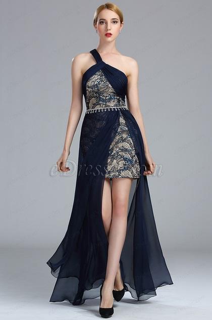 eDressit Dark Blue Sequin Lace Summer Coast Dress 2017/2018 (00174305)