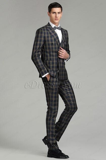 eDressit Tailor Made Peak Lapel Men Suits Tuxedo (15182368)
