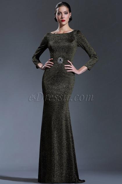 EDressit Long Sleeves Mother Of The Bride Groom Ladies Dress26181024
