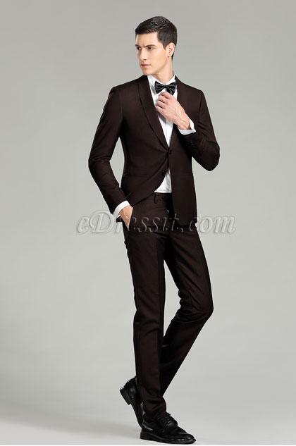 Custom eDressit Brown Men Suits Formal Tuxedo (15181420)