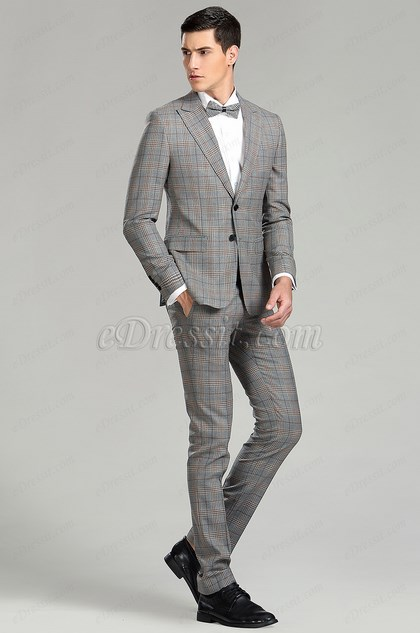 eDressit Tailor Made Men Suits Check Suit (15181908)
