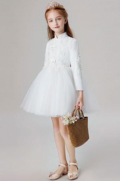 eDressit Lace Applique Flower Girl Dress (28202007)