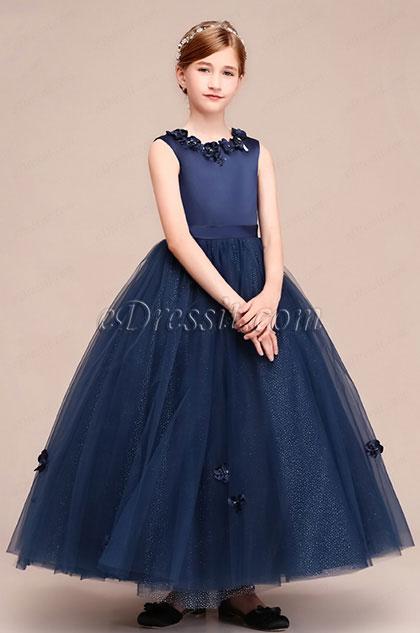 eDressit Floral Long Sleeveless Flower Girl Dress (27192705)