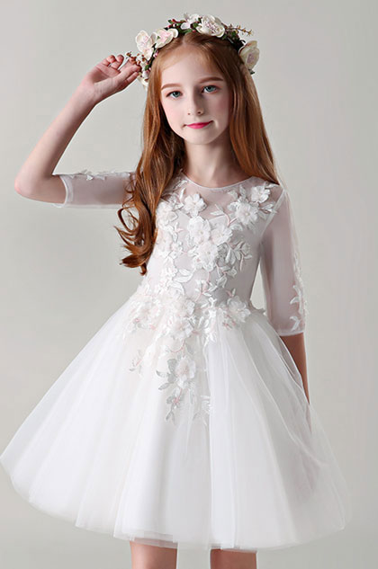 eDressit Lace Cocktail Flower Girl Dress Little Girl Dress (28199207)