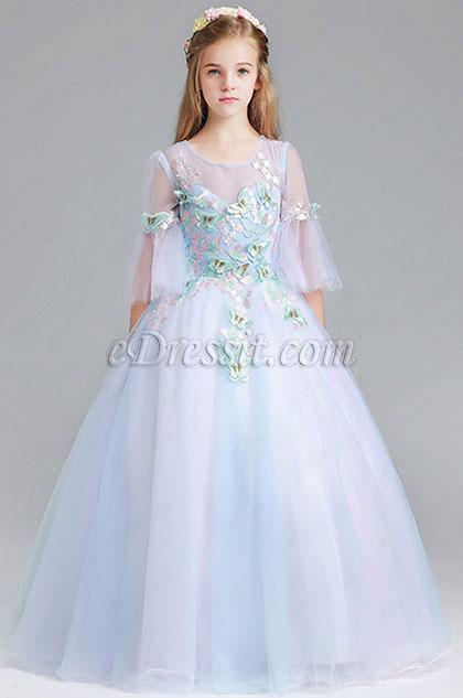 eDressit Children V Neck Wedding Flower Girl Dress (27191405)