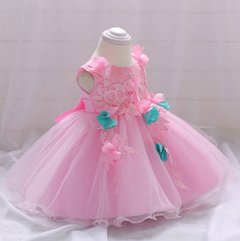 eDressit Lovely Pink Lace Top Baby Dress (2319039)