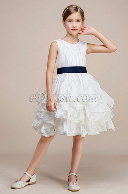 eDressit Simple Classic Princess Wedding Flower Girl Dress (28191107)