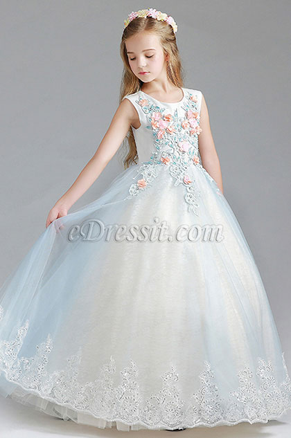 eDressit Princess Handmade Wedding Flower Girl Party Dress (27198005)